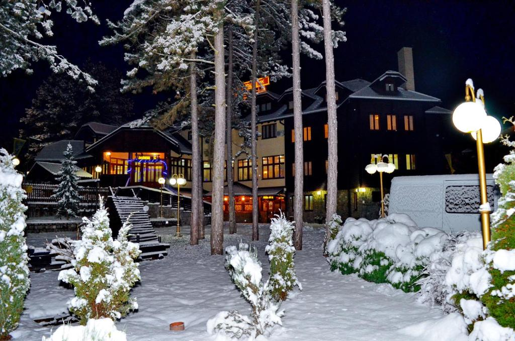 Hotel Zlatiborska Noc during the winter