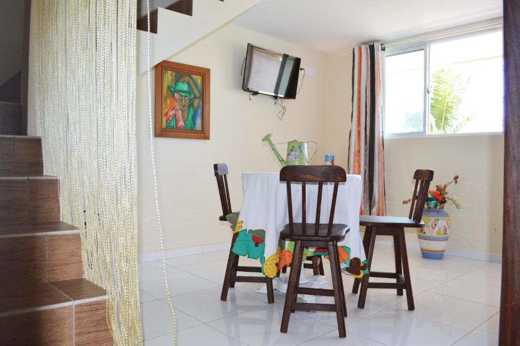 The fitness center and/or fitness facilities at Flat San Jorge