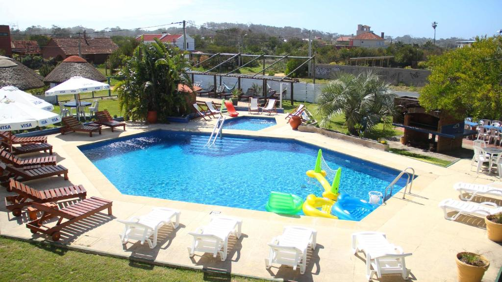 A view of the pool at El Hotel de la Torre or nearby