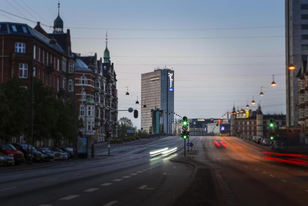 Отель Radisson Blu Scandinavia в Копенгагене