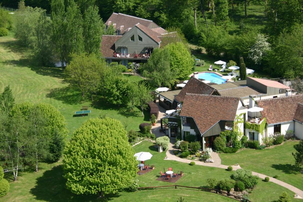A bird's-eye view of Domaine de L'Arbrelle