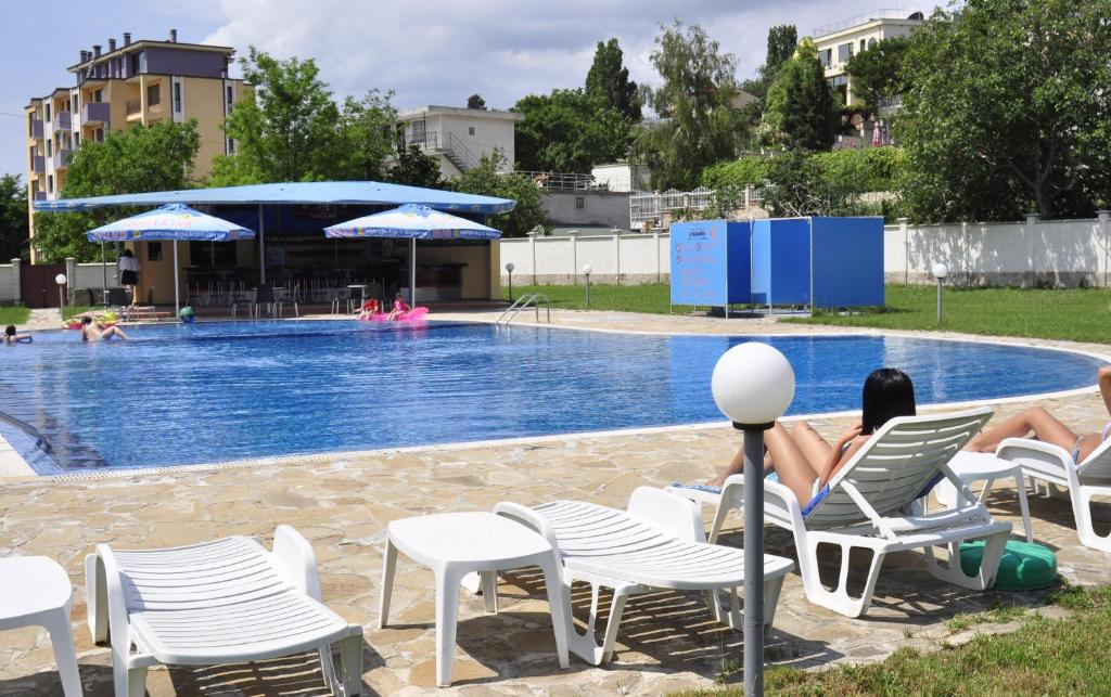 The swimming pool at or near Strandzha Hotel - Free Parking