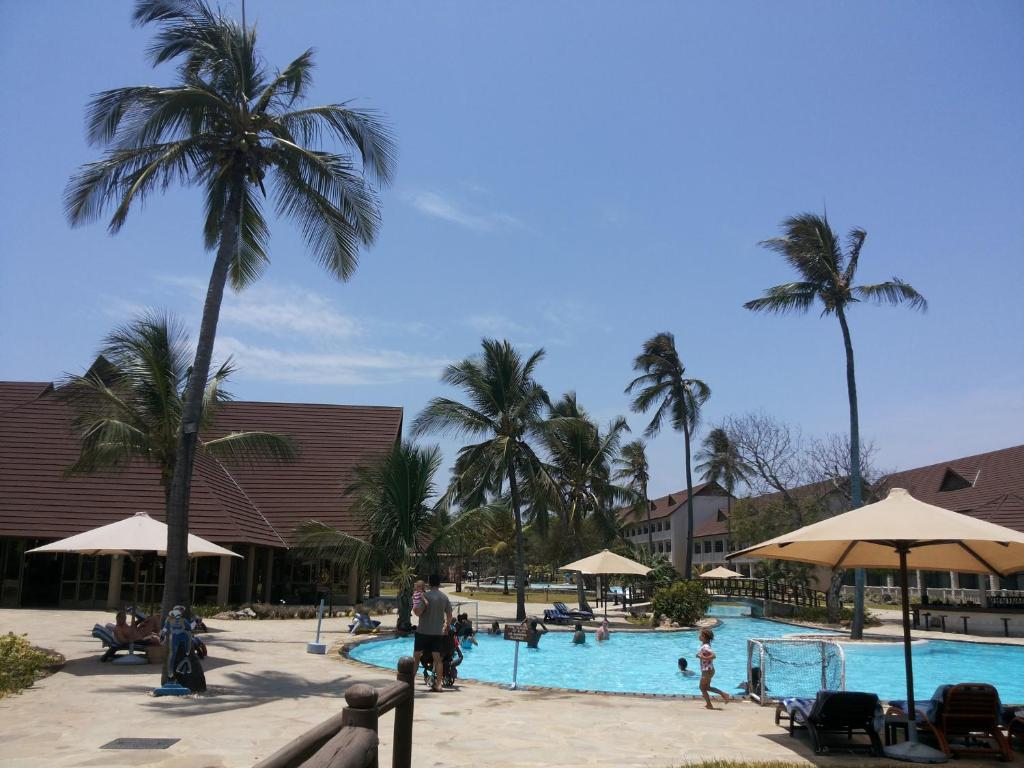 The swimming pool at or close to Amani Tiwi Beach Resort