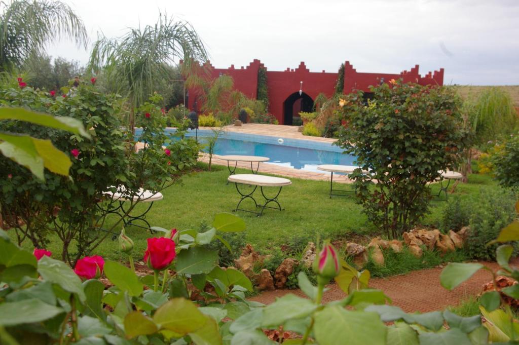 The swimming pool at or near Jnane N'zaha Fes