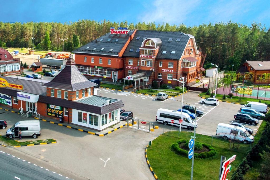 Отель-Транзит с высоты птичьего полета