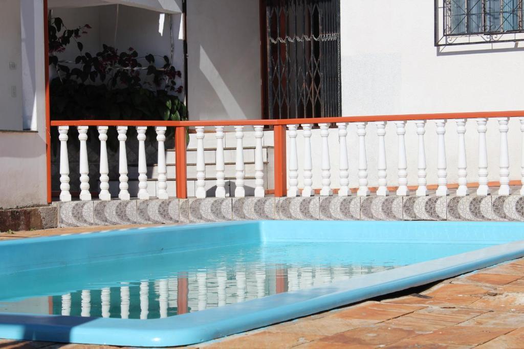 A piscina localizada em Pousada Foz Igu ou nos arredores