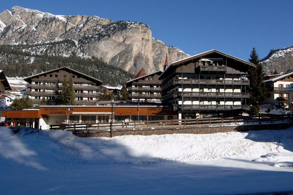 Residence Antares during the winter