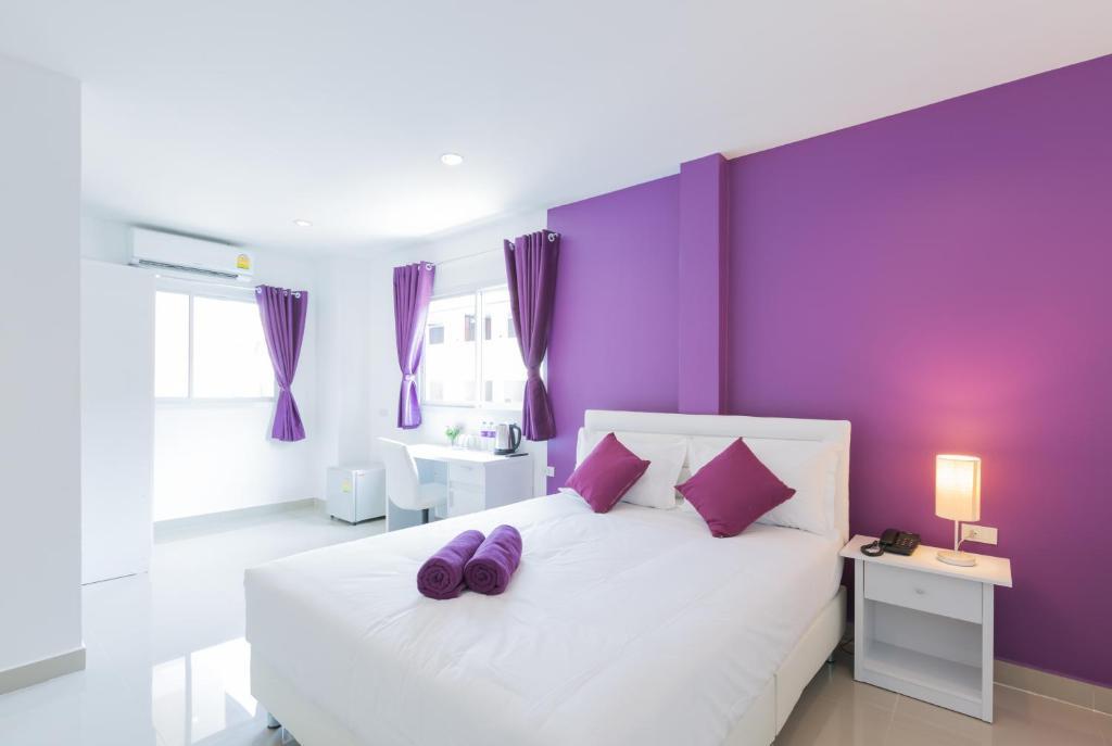 Кровать или кровати в номере Z by Zing