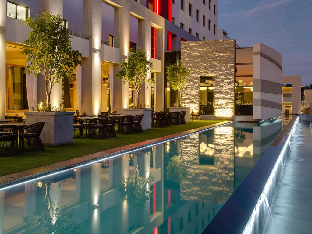 The swimming pool at or near Protea Hotel Fire & Ice! by Marriott Pretoria Menlyn