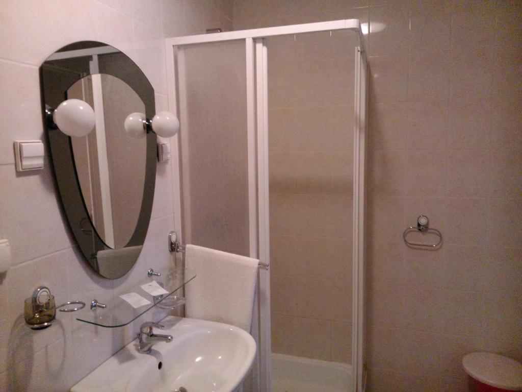 Łazienka w obiekcie Hostel Miłosz