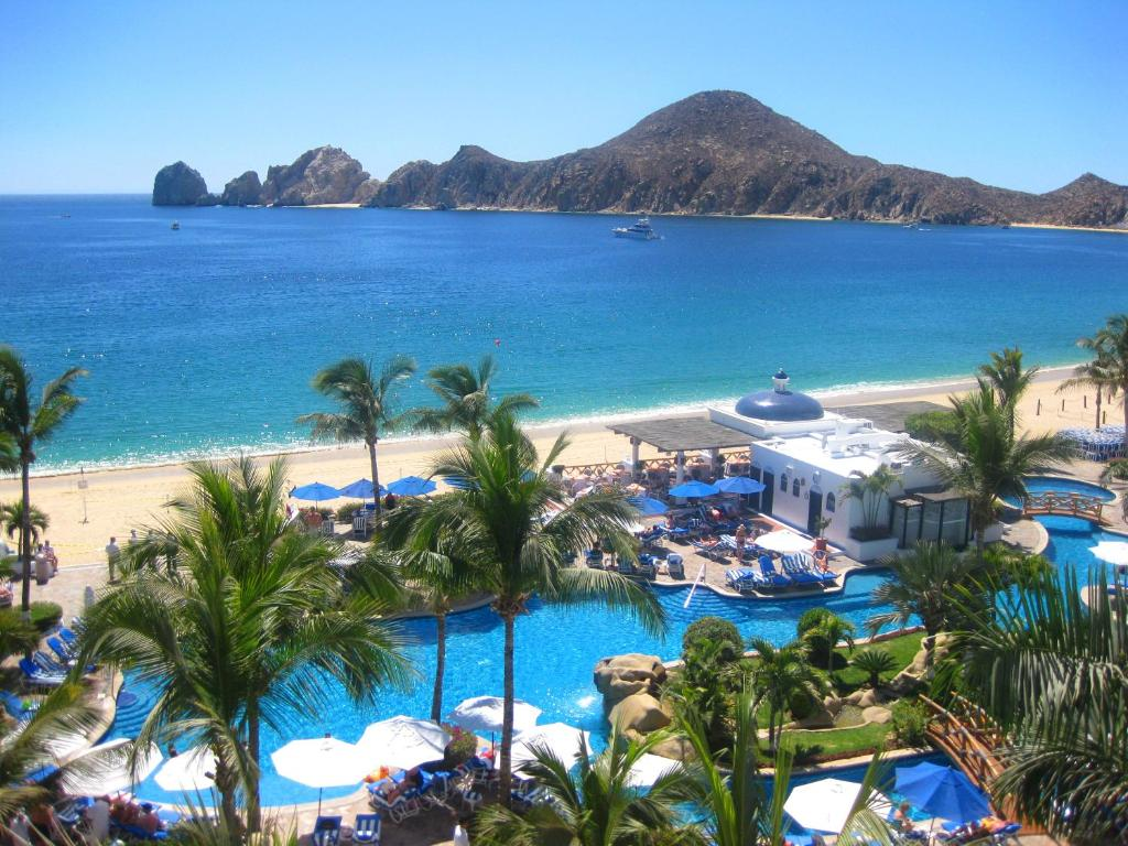 A view of the pool at Pueblo Bonito Los Cabos Blanco Beach Resort - All Inclusive or nearby
