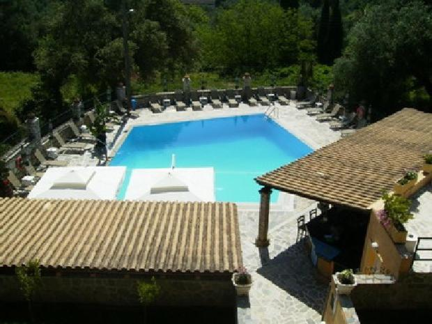 A view of the pool at Villa Yannis or nearby