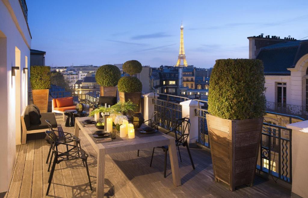 Clientes alojados en Hotel Marignan Champs-Elysées