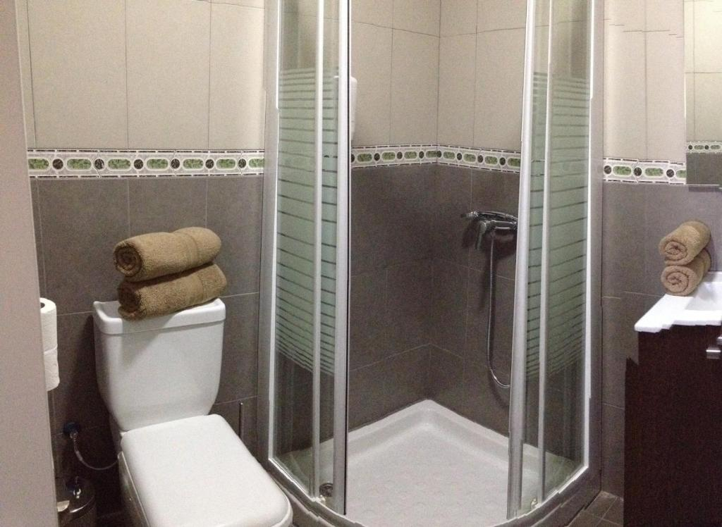 A bathroom at Hotel Playa de Arinaga