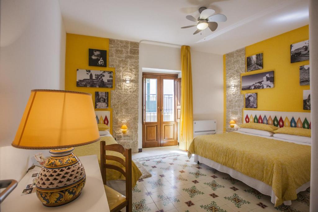 Area soggiorno di Antico Borgo