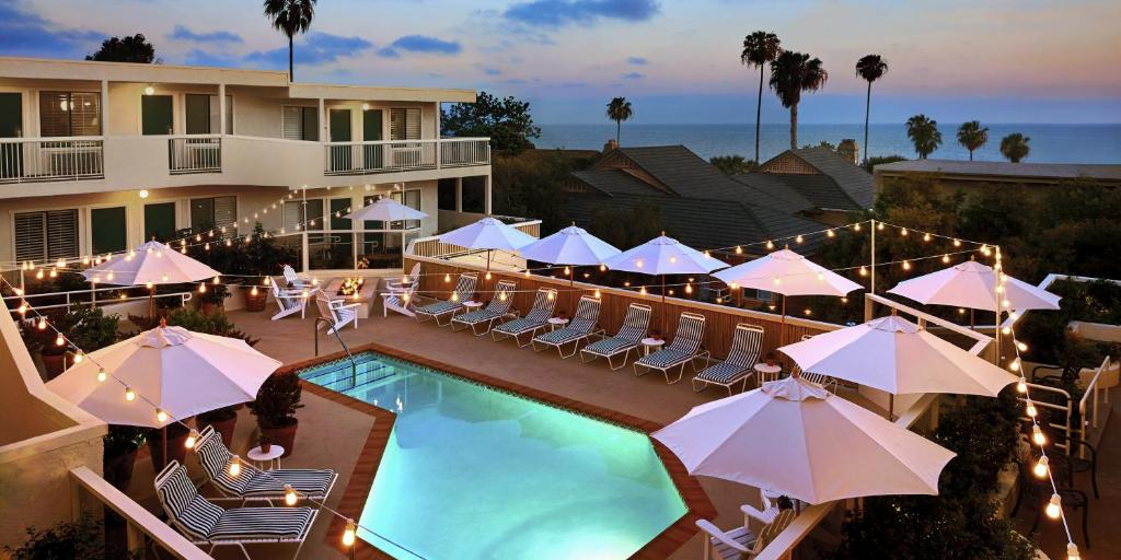 A view of the pool at Laguna Beach House or nearby