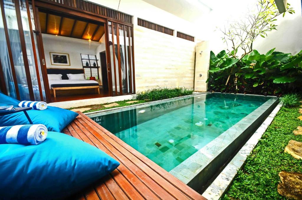 The swimming pool at or near The Royal Bali Villas Canggu