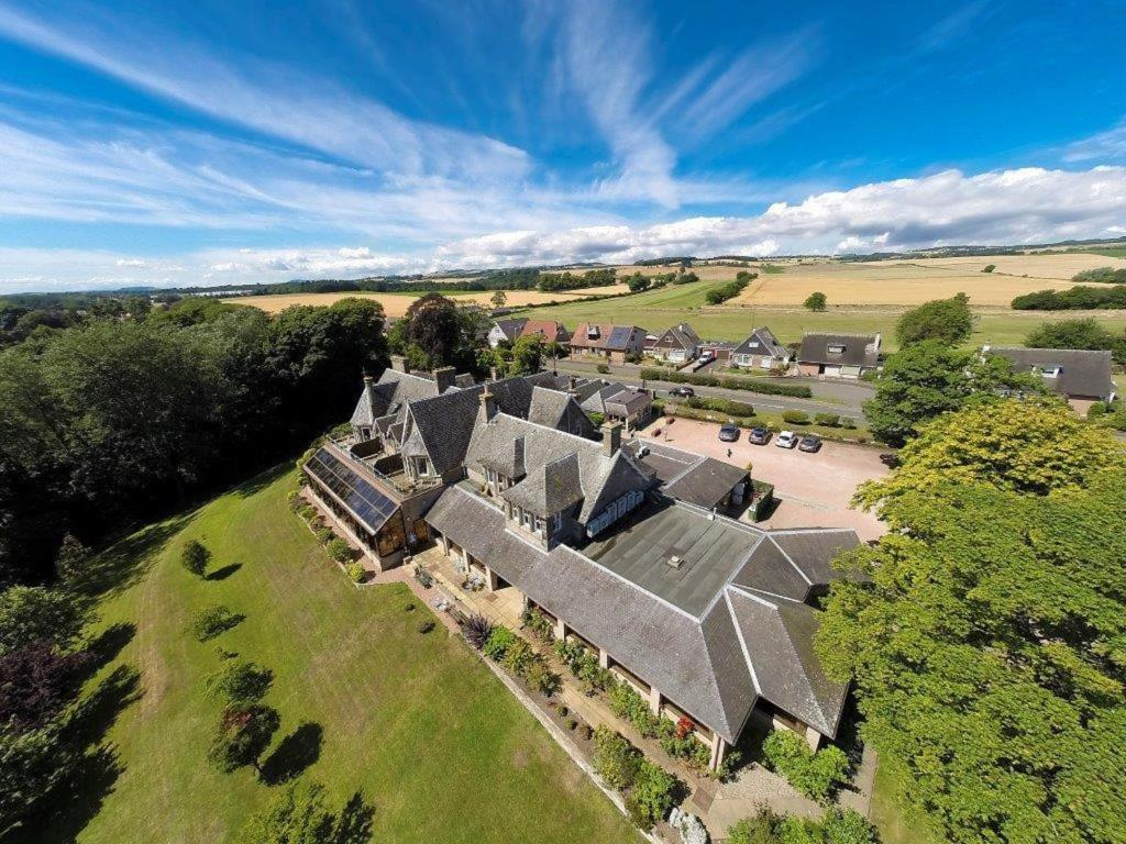 A bird's-eye view of Old Manor Hotel