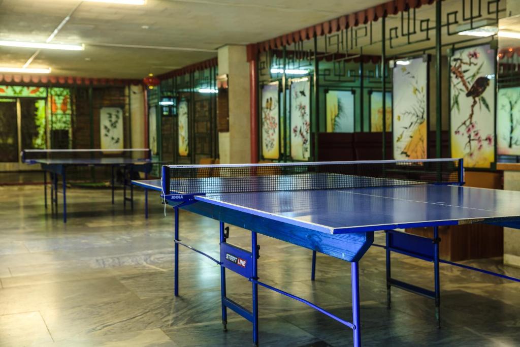 Ping-pong facilities at Zvenigorodsky Resort or nearby