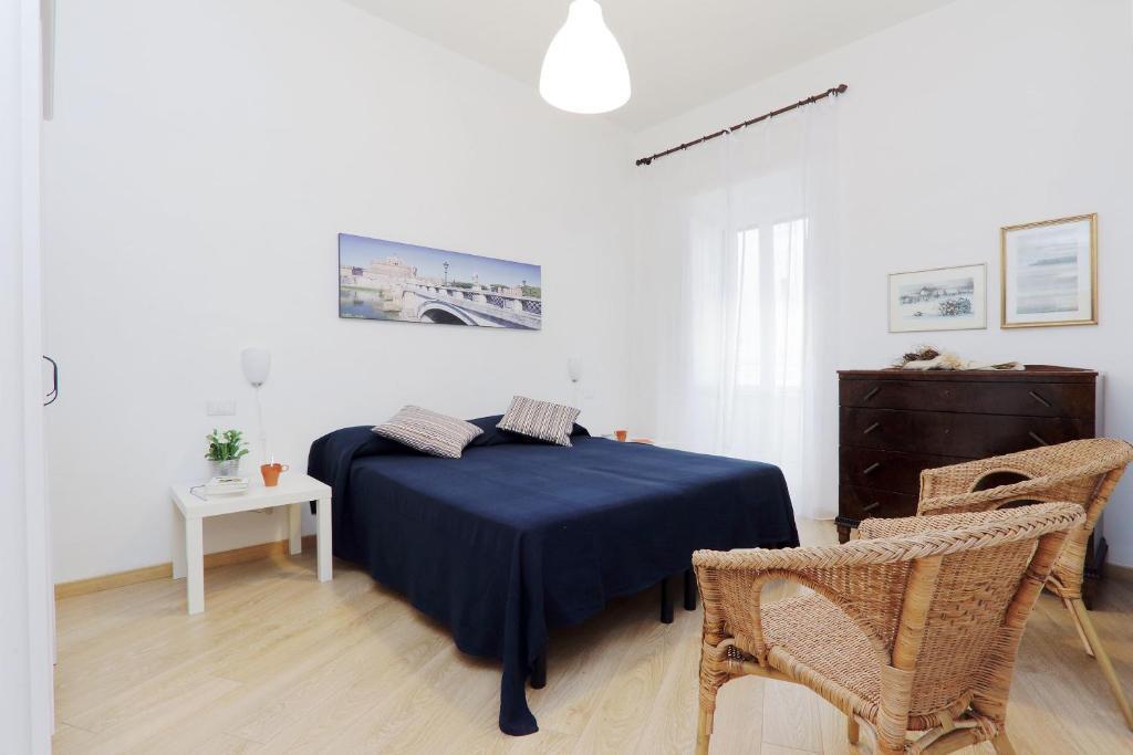 Letto o letti in una camera di Via Veneto Smart Apartment