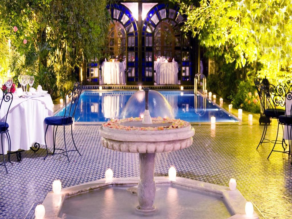 The swimming pool at or near Palais Shéhérazade & Spa