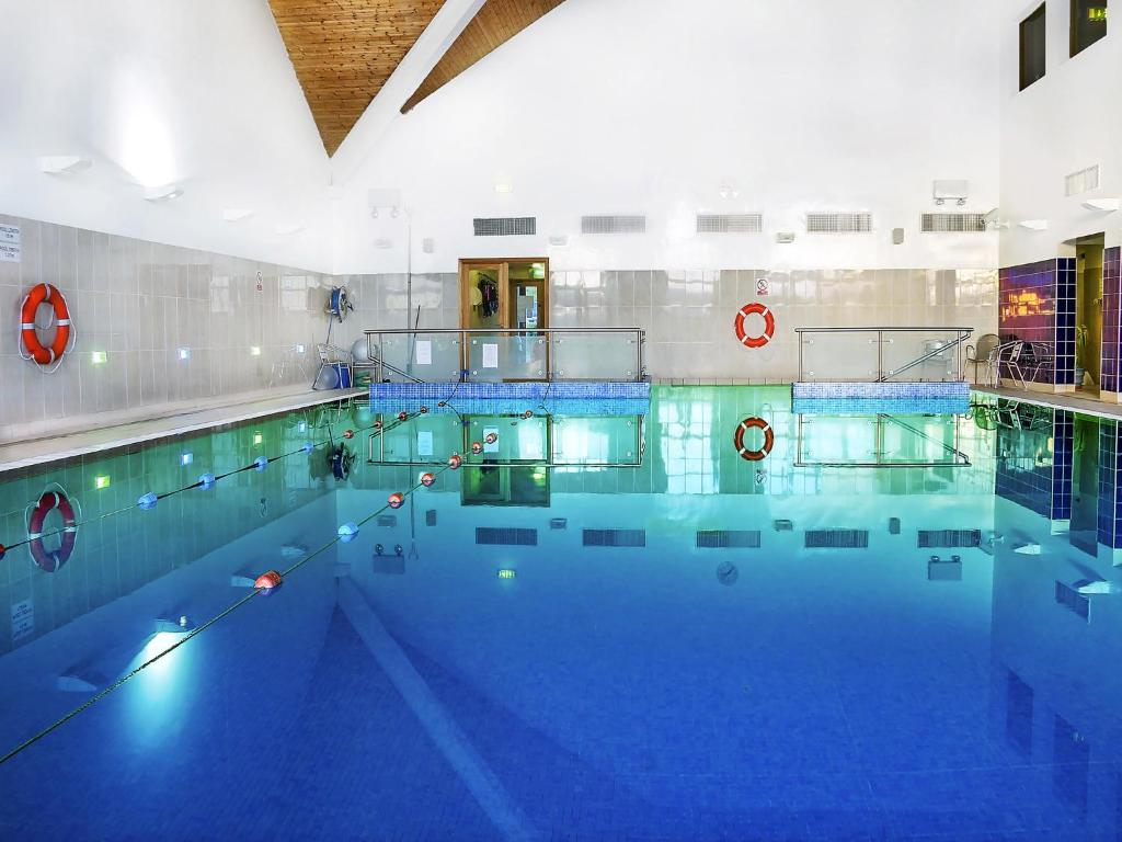 The swimming pool at or near Lough Allen Hotel & Spa