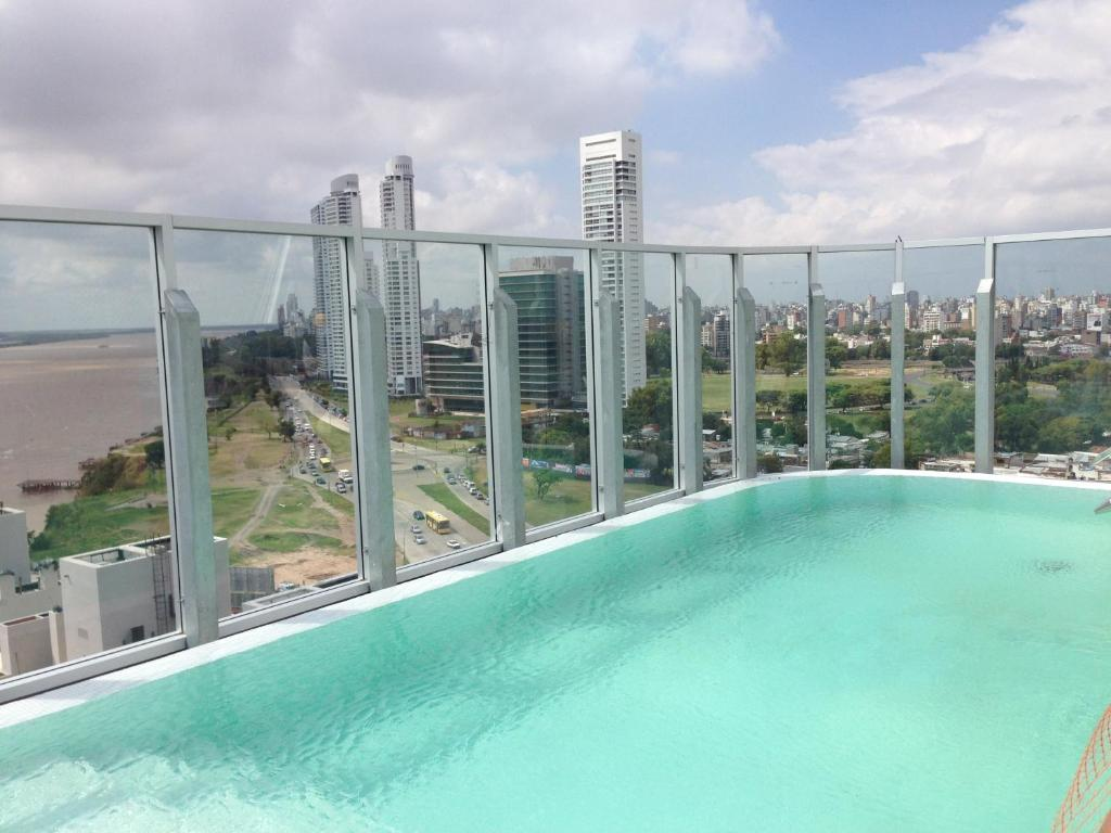 The swimming pool at or near Puerto Norte Design Hotel