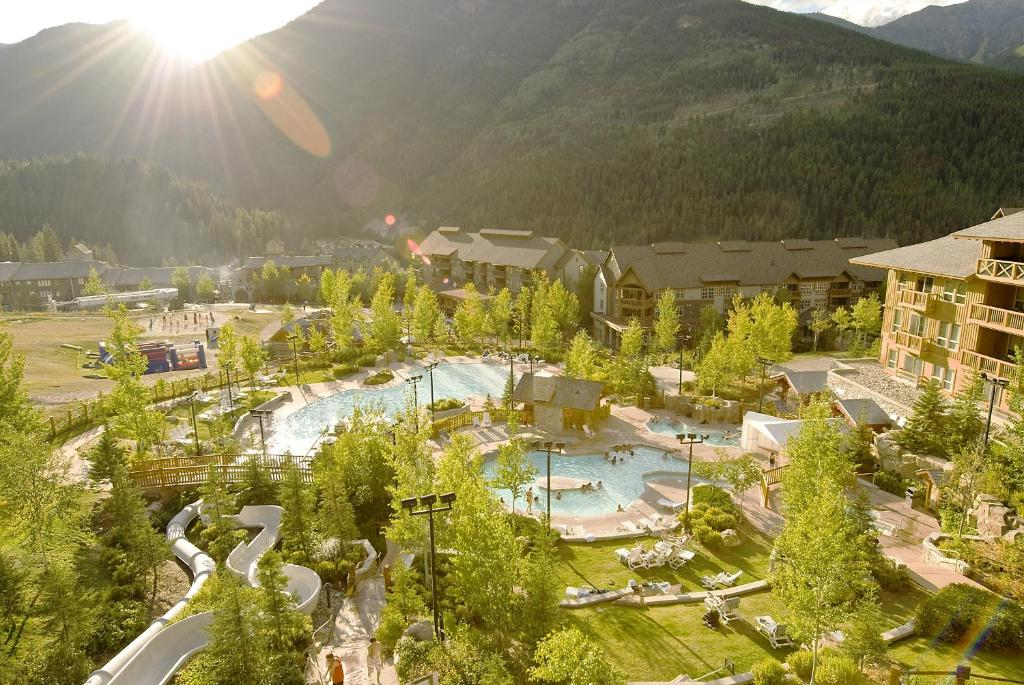 A bird's-eye view of Panorama Mountain Resort - Ski Tip / Tamarack Condos