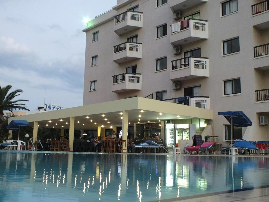 The swimming pool at or near Livas Hotel Apartments