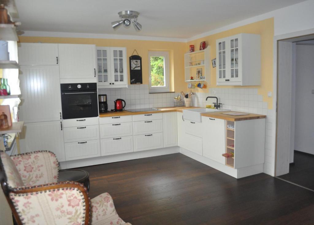 Küche/Küchenzeile in der Unterkunft Stuga Claudia