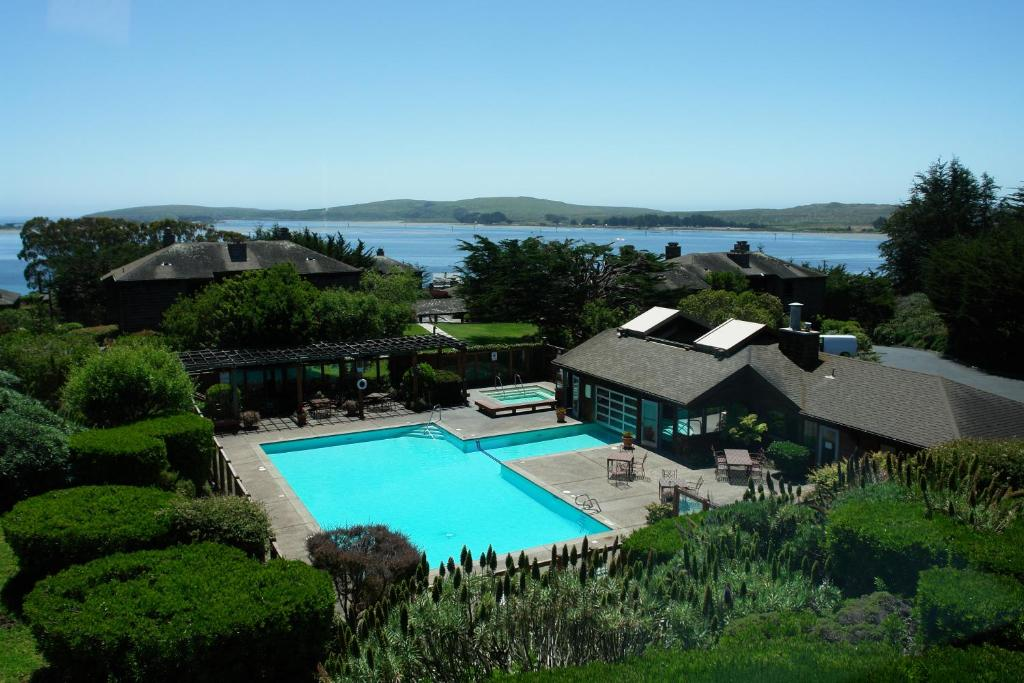 A view of the pool at The Inn at the Tides or nearby