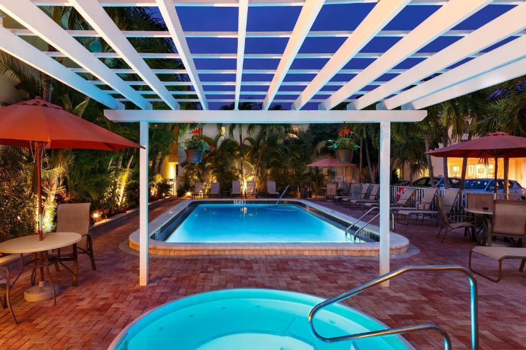 Bazen v nastanitvi oz. blizu nastanitve Inn at the Beach-Venice FLORIDA