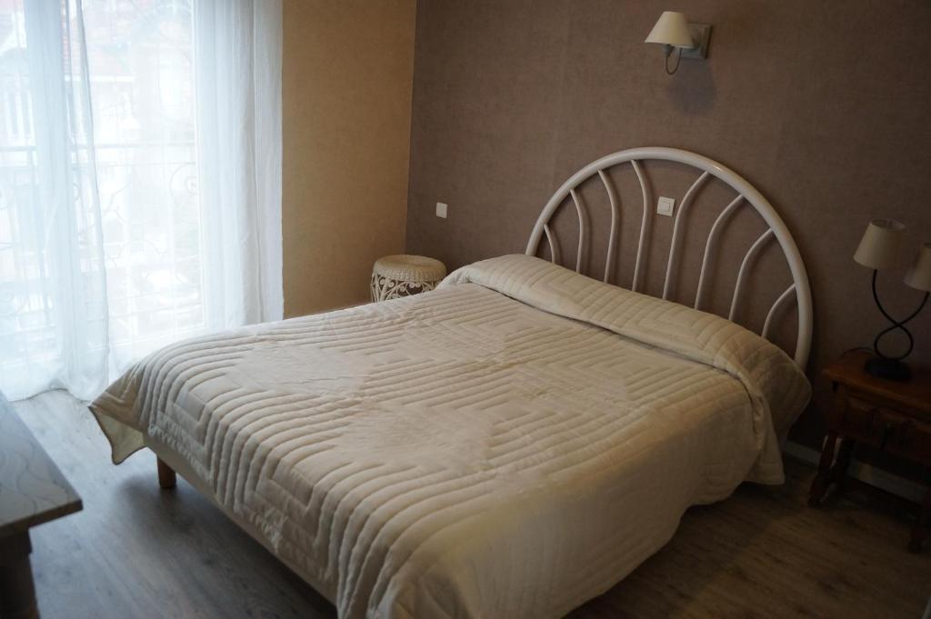 Un ou plusieurs lits dans un hébergement de l'établissement Le Novel