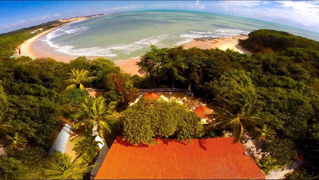 Uma vista aérea de Villa Maree