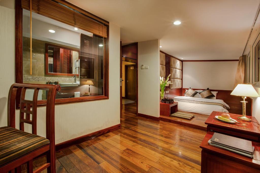 Phòng trải chiếu Tatami