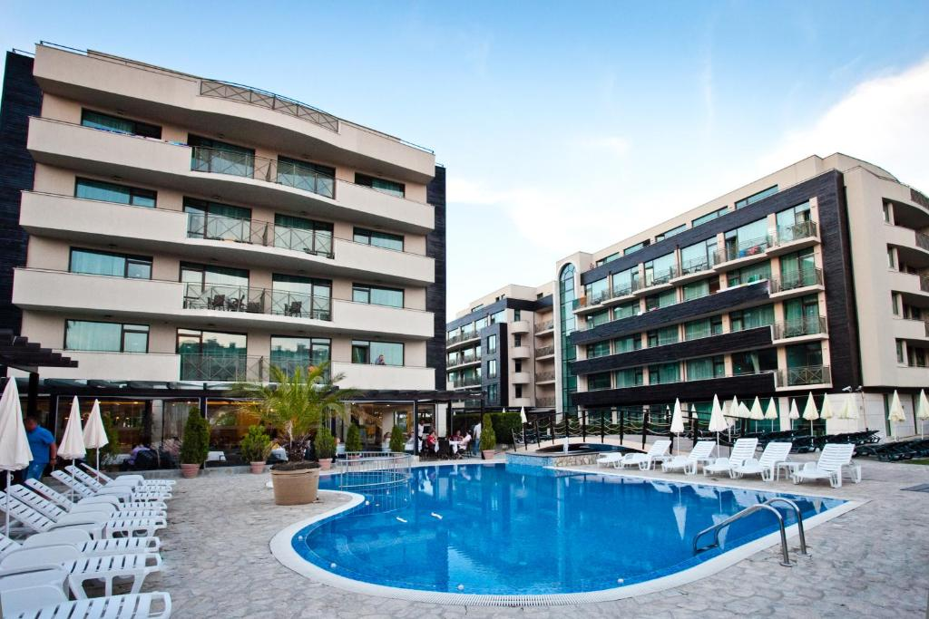 The swimming pool at or near Lion Sunny Beach Hotel
