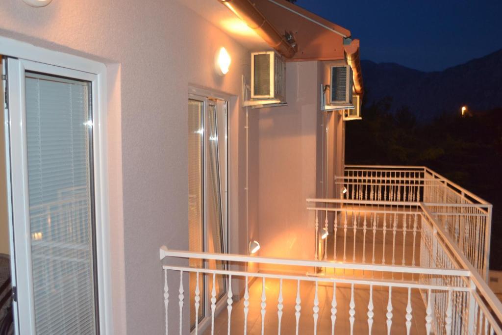 Balkon ili terasa u objektu Apartments Lalević