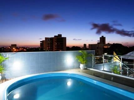 A piscina localizada em Hotel Agua Marinha ou nos arredores