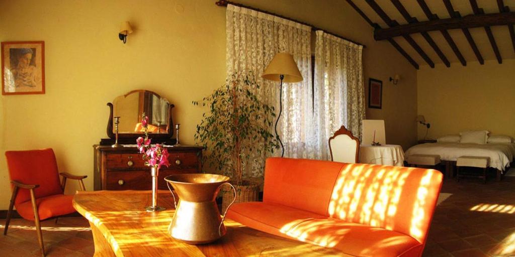 Zona de estar de Casa Rural Las Fuentes de Ágata