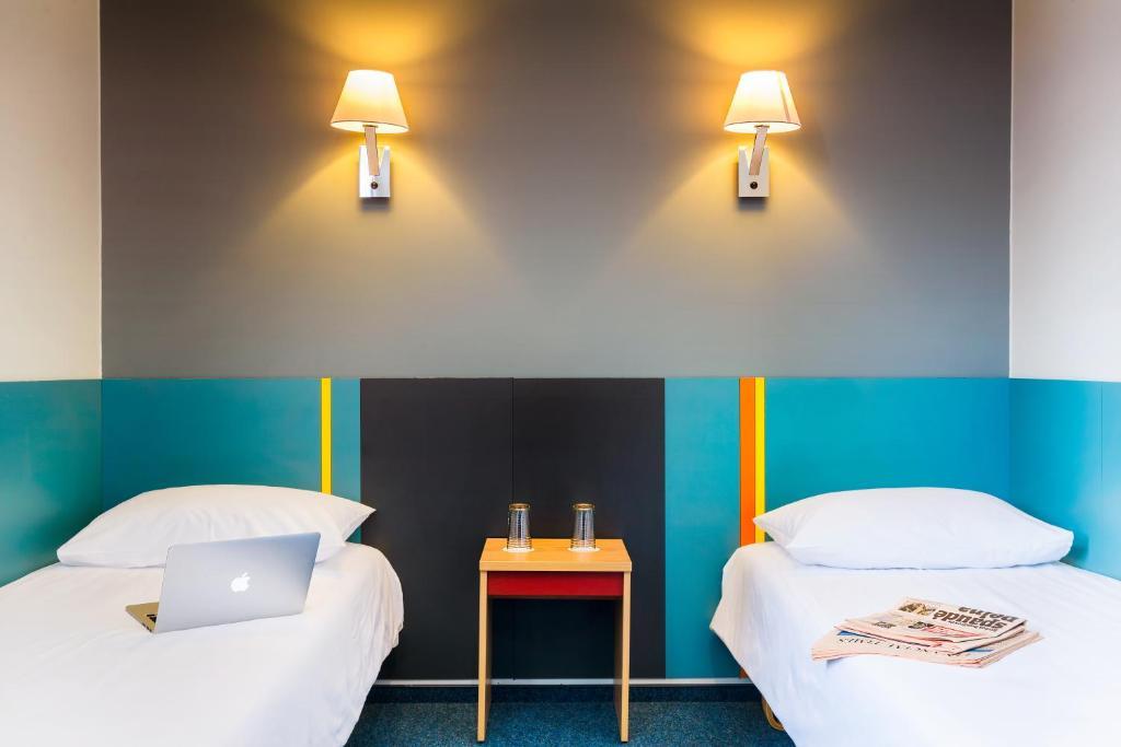Lova arba lovos apgyvendinimo įstaigoje Ecotel Vilnius