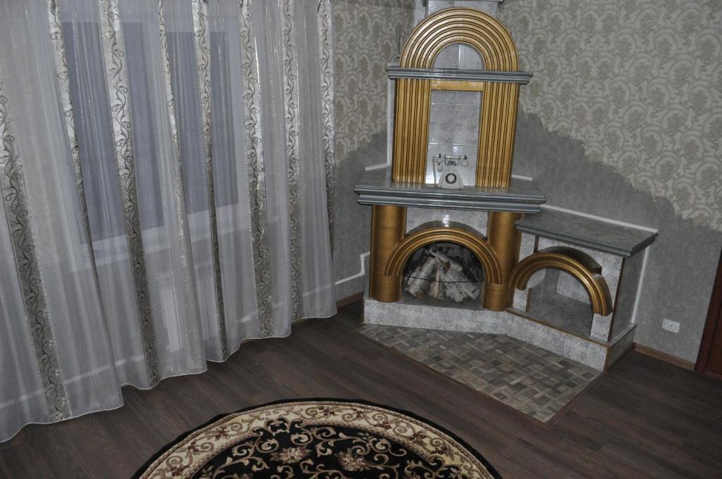 A seating area at Guest House Baykalskiy Ochag