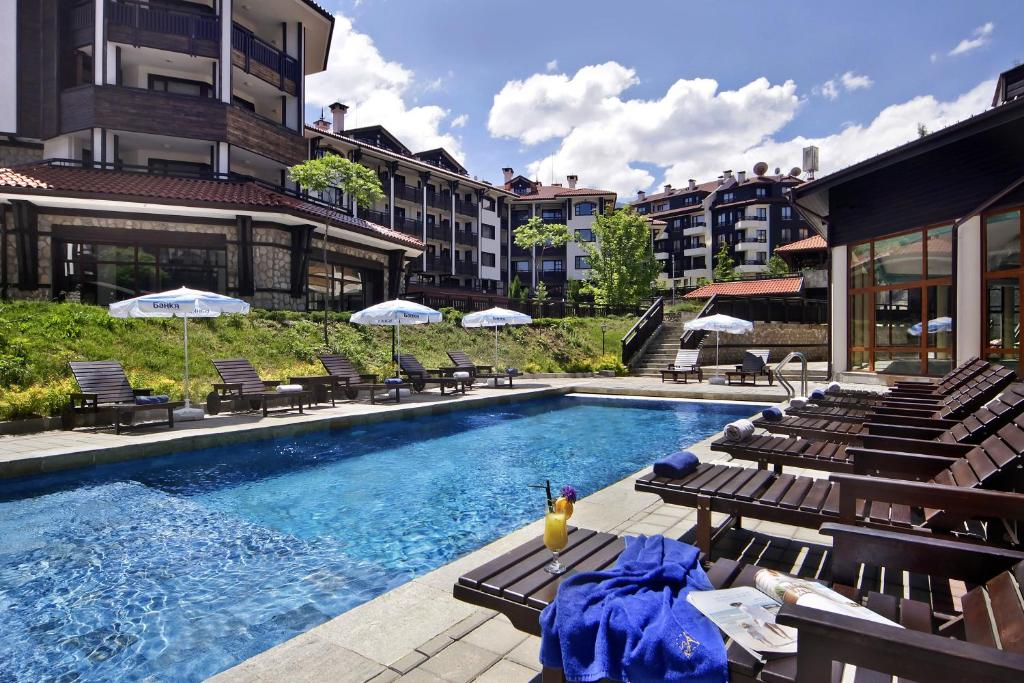 Piscina di Astera Bansko Apartment Tourist Complex & SPA o nelle vicinanze