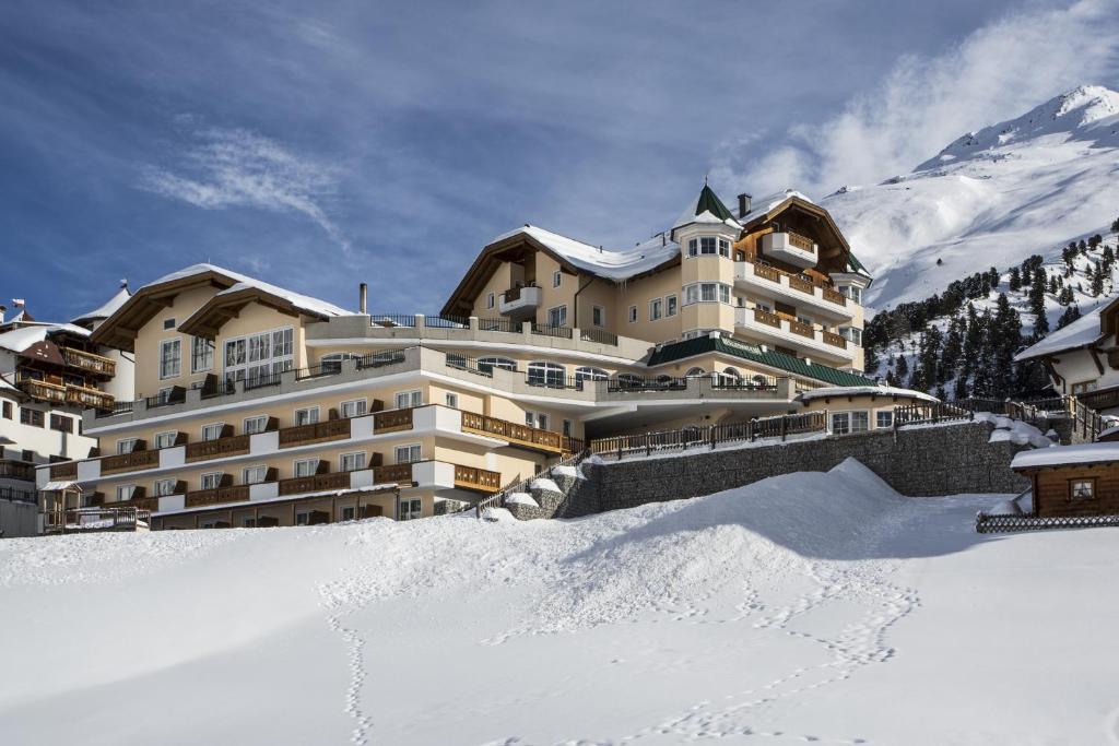 Alpenaussicht during the winter
