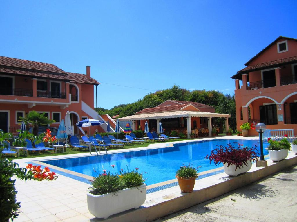 The swimming pool at or near Varvara Studios & Apartments II