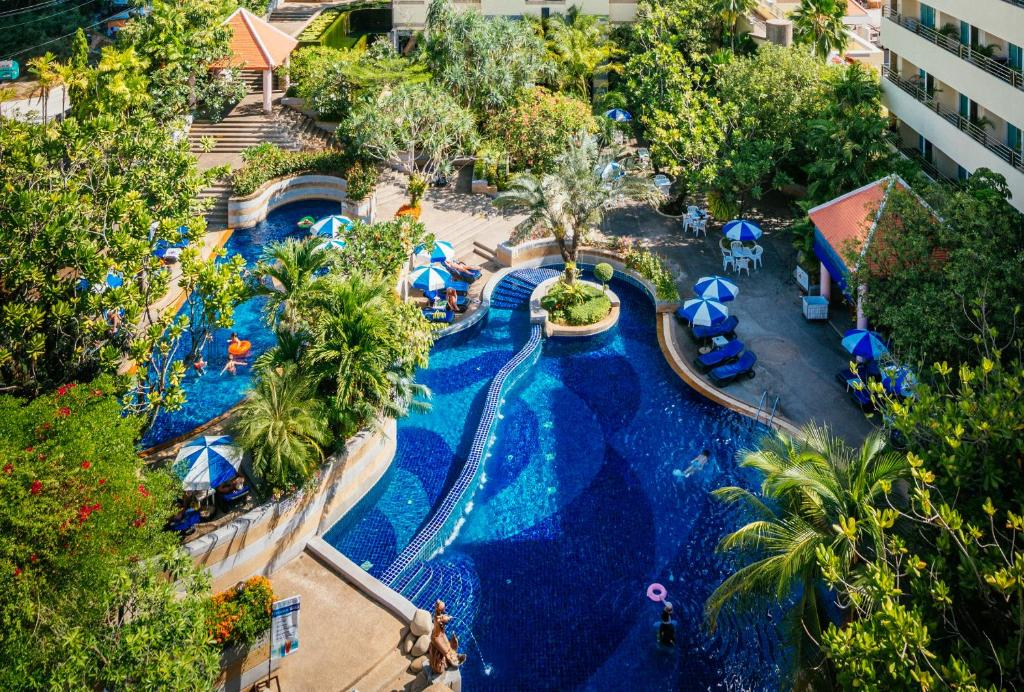 A view of the pool at The Royal Paradise Hotel & Spa or nearby