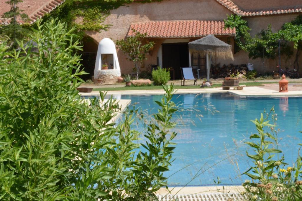 The swimming pool at or near Cuevas Almagruz