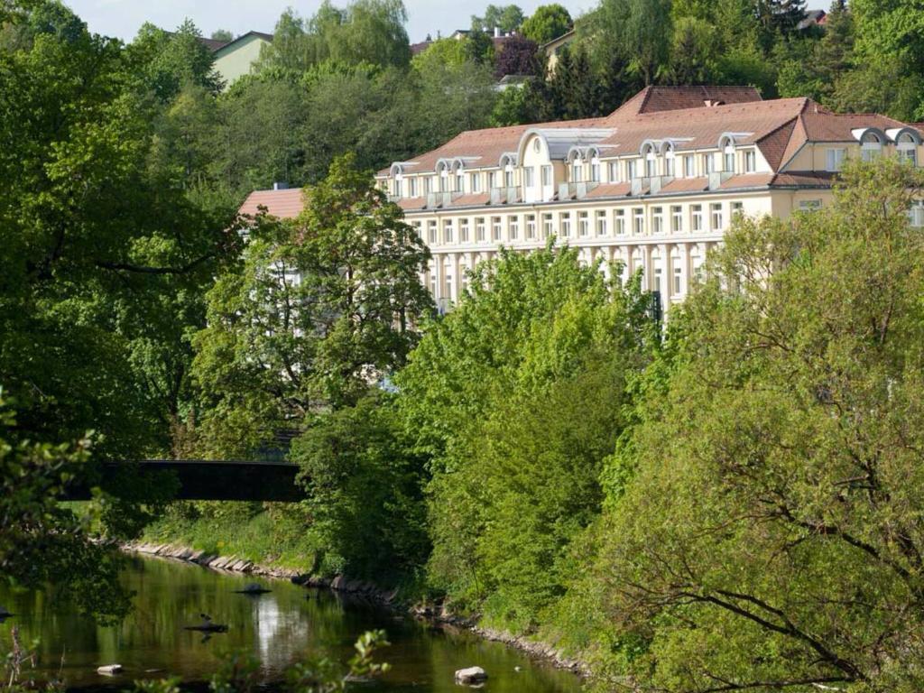 Uma vista aérea de Wyndham Garden Donaueschingen