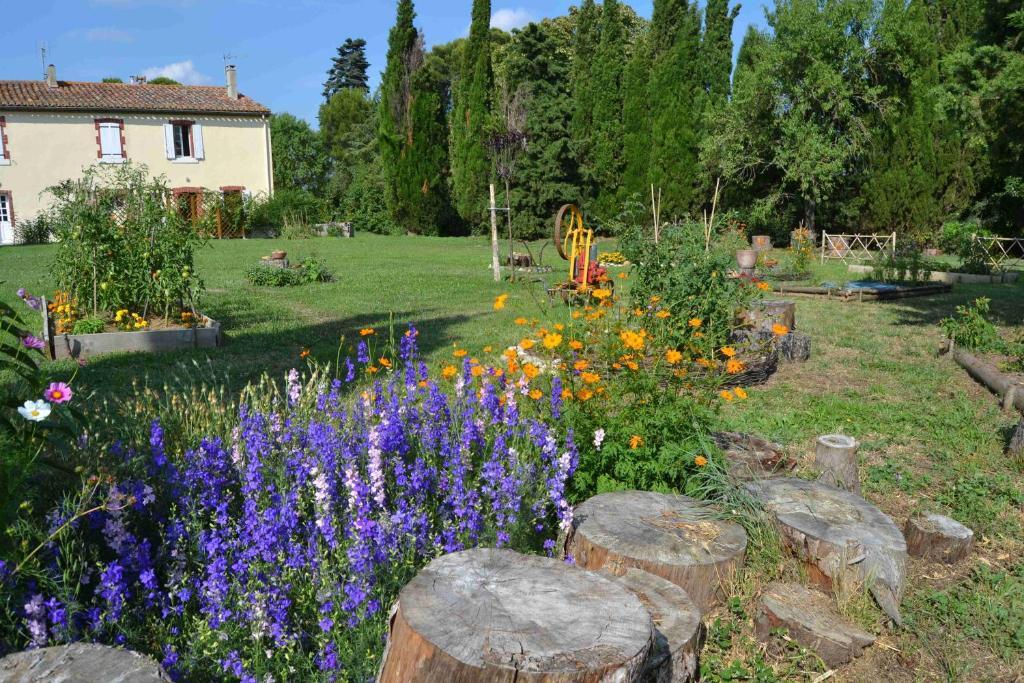 Jardin de l'établissement Domaine de Buscail