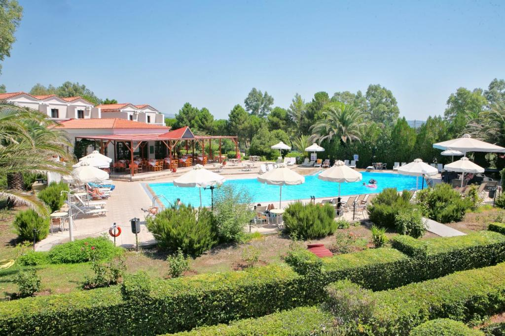 A view of the pool at Pasiphae Hotel or nearby