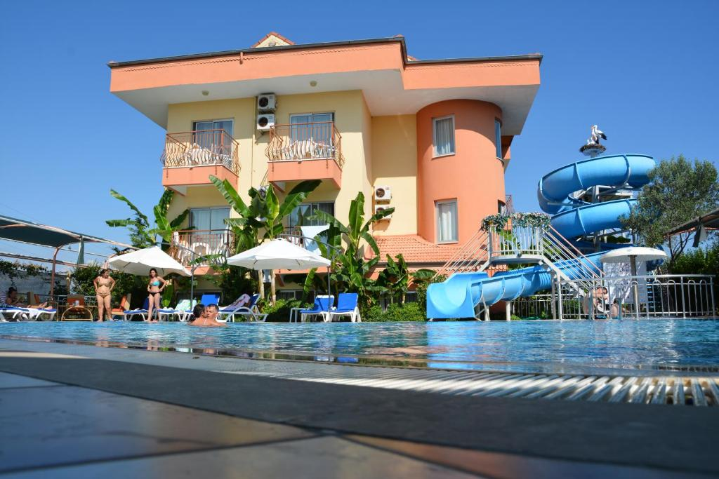 Aqua park at the hotel or nearby